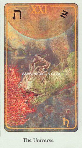 Herbal Tarot - Галерея Таро - Галерея - На грани миров