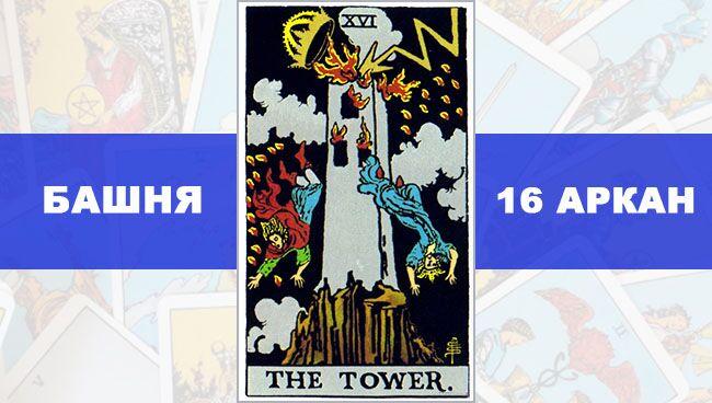 башня таро значение