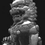 Страж храма в Китае