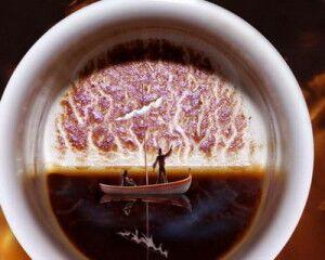 как гадать на кофейной гуще толкование в картинках