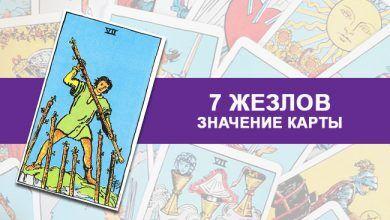 7 Семёрка Жезлов Посохов