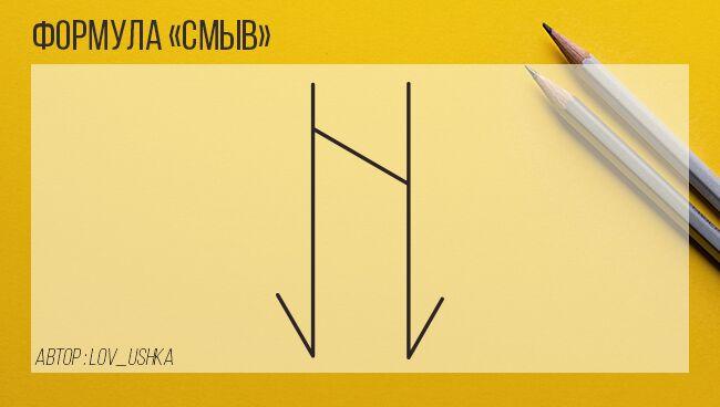 Формула Смыв
