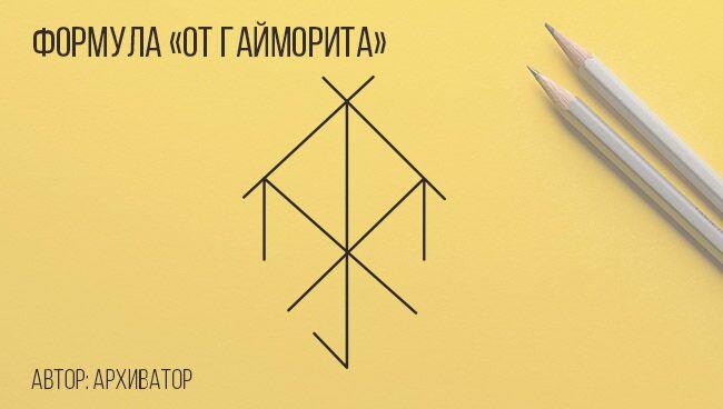 Формула «От гайморита»