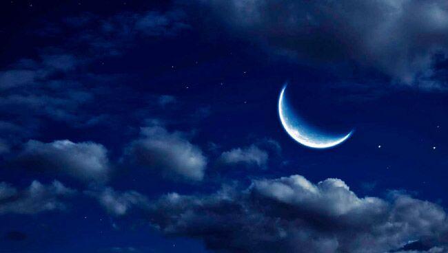 Обряд вызова на растущую Луну