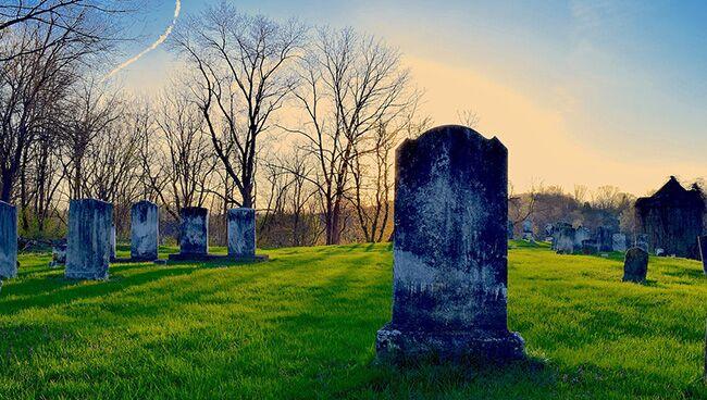 Сильный кладбищенский ритуал