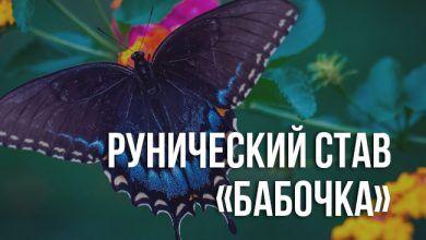 рунический став «Бабочка»
