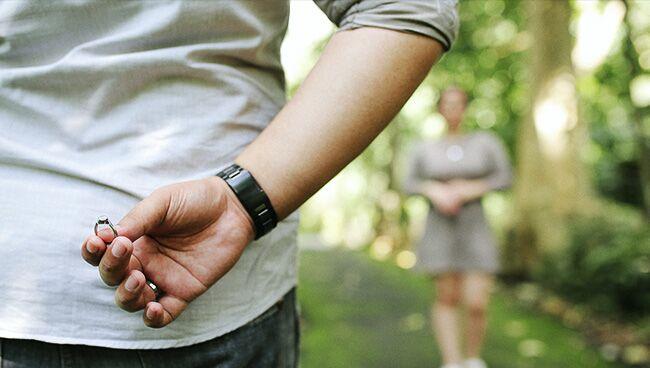 линия любви брака на руке