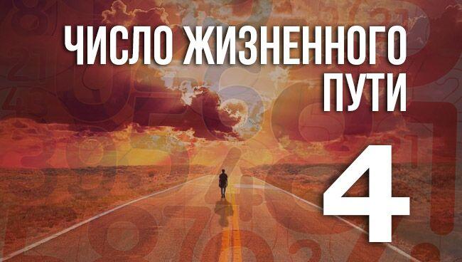 число жизненного пути 4