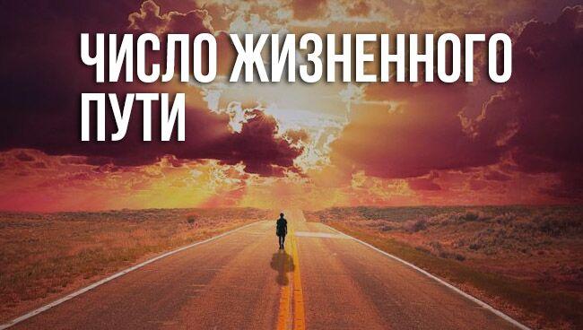 число жизненного пути