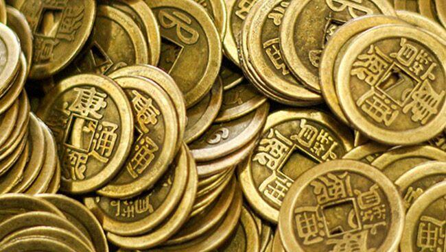 денежный талисман - китайские монетки