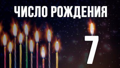 Число даты рождения 7