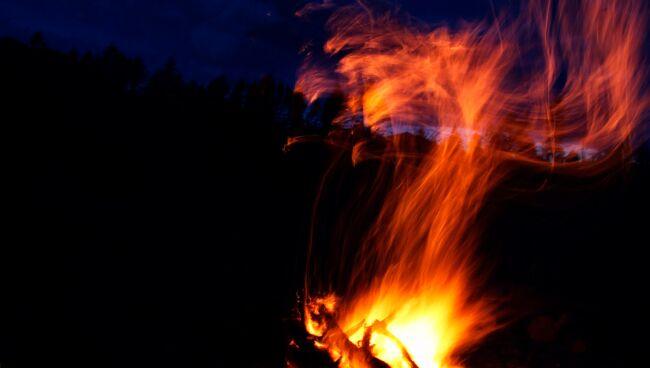 видеть во сне огонь
