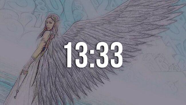 Значение 13:33 на часах в ангельской нумерологии