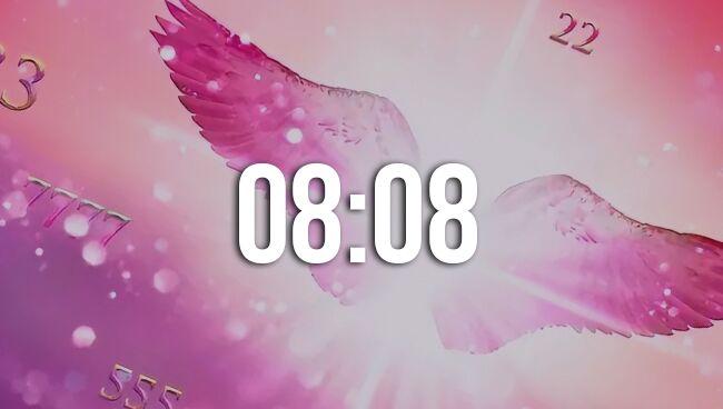 Значение времени 08:08 на часах в ангельской нумерологии