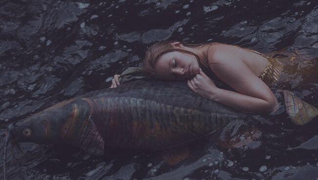 К чему женщине снится большая рыба