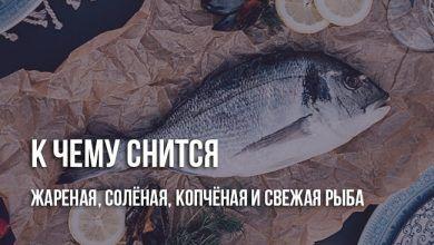 К чему снится, что ешь рыбу