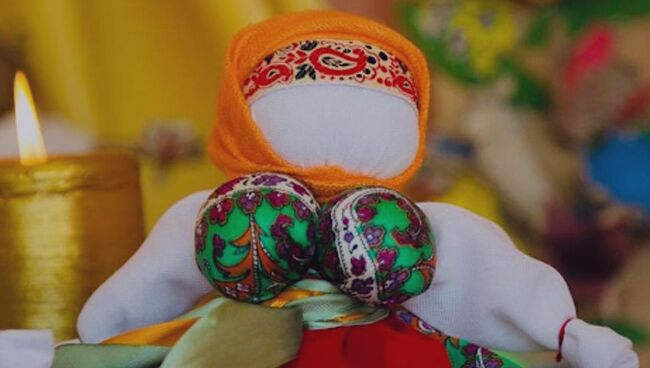 Кукла-оберег манилка своими руками
