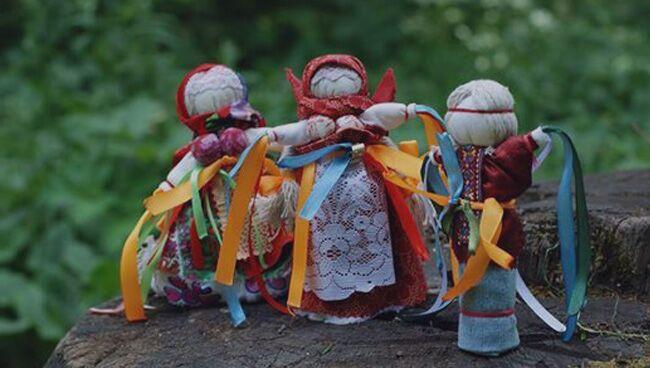Манилка кукла-оберег для мужчин