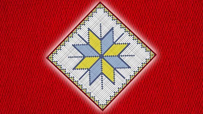 Славянские обереги крестиком