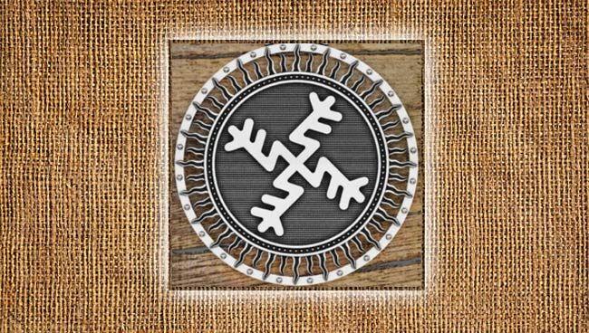 Оберег денежный крест