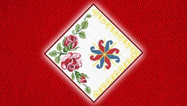 Славянские обереги для женщин: вышивка
