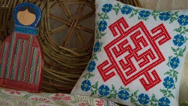 Славянские вышивки-обереги и их значение