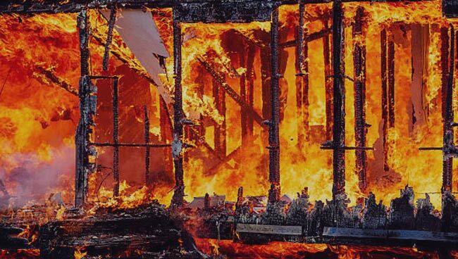 Приснилось, что горит дом