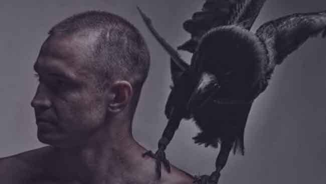 Амулет - Ворон для мужчин