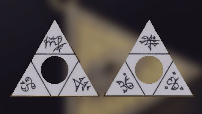 Денежный треугольник талисман своими руками