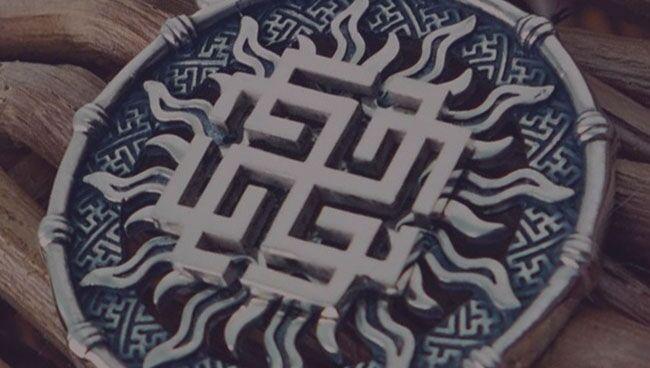 Оберег Родимич: символ бога Рода